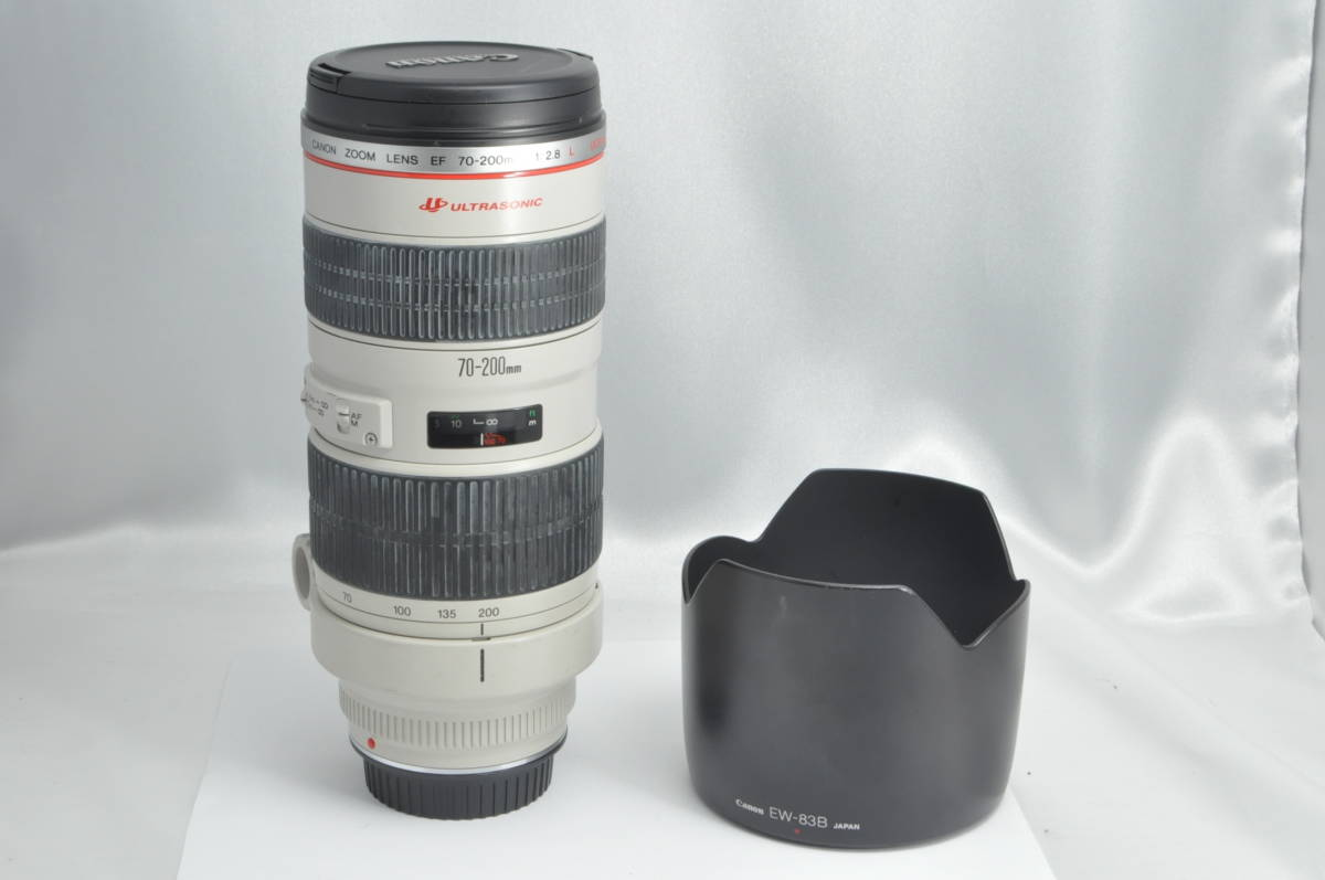 #3102 CANON LENS EF 70-200mm F2.8 L ULTRASONIC キャノン ウルトラソニック レンズ