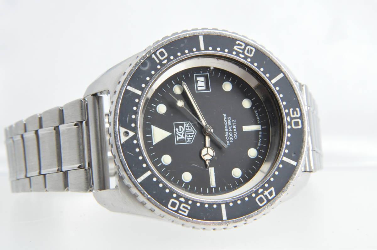 #3492 TAG HEUER 980.023N Professional 1000M QUARTZ タグホイヤー プロフェッショナル ディープダイバー Deep Diver クォーツ腕時計_画像6