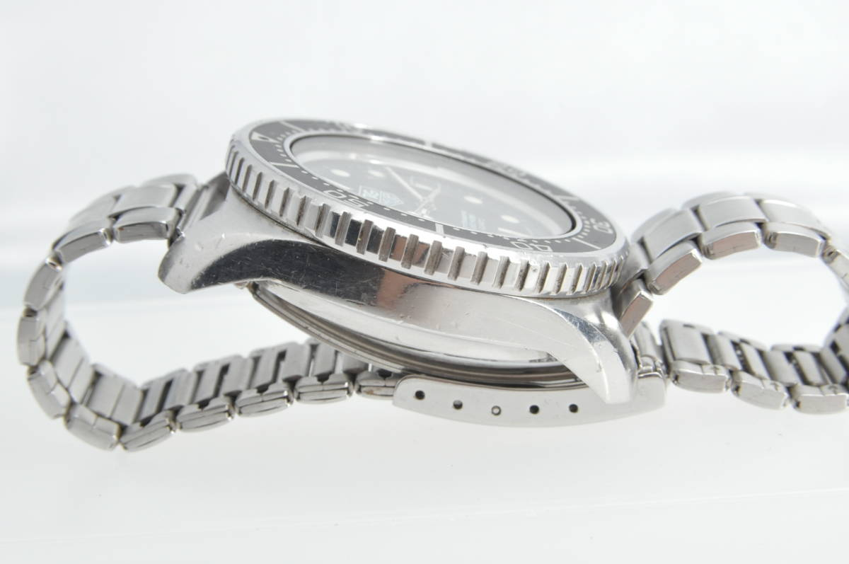 #3492 TAG HEUER 980.023N Professional 1000M QUARTZ タグホイヤー プロフェッショナル ディープダイバー Deep Diver クォーツ腕時計_画像3