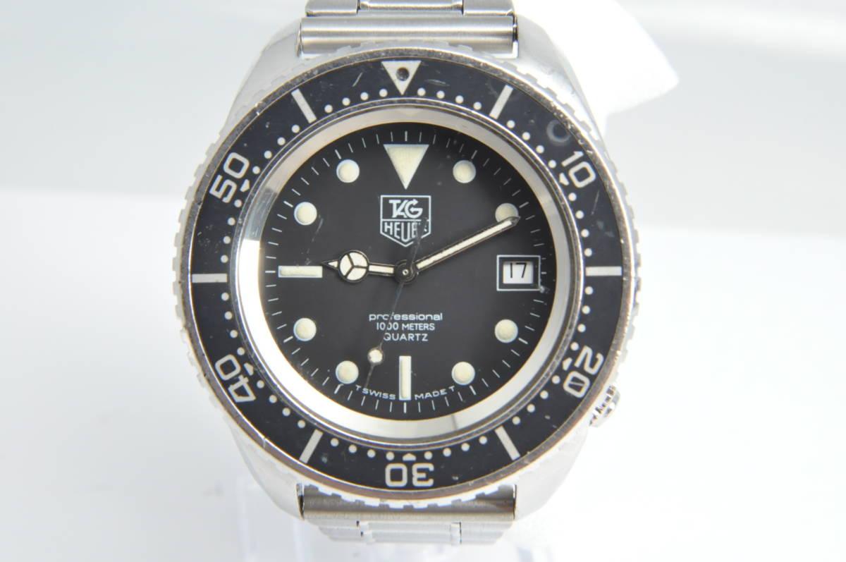 #3492 TAG HEUER 980.023N Professional 1000M QUARTZ タグホイヤー プロフェッショナル ディープダイバー Deep Diver クォーツ腕時計