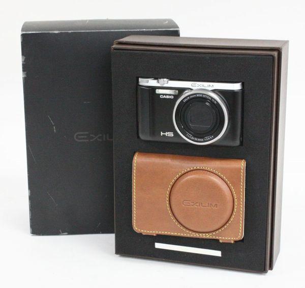 ◇ CASIO コンパクトデジタルカメラ EXILIM 10周年記念モデル EX-ZR1000BSA バッテリー2個/別売充電器付き ◇MHD6588