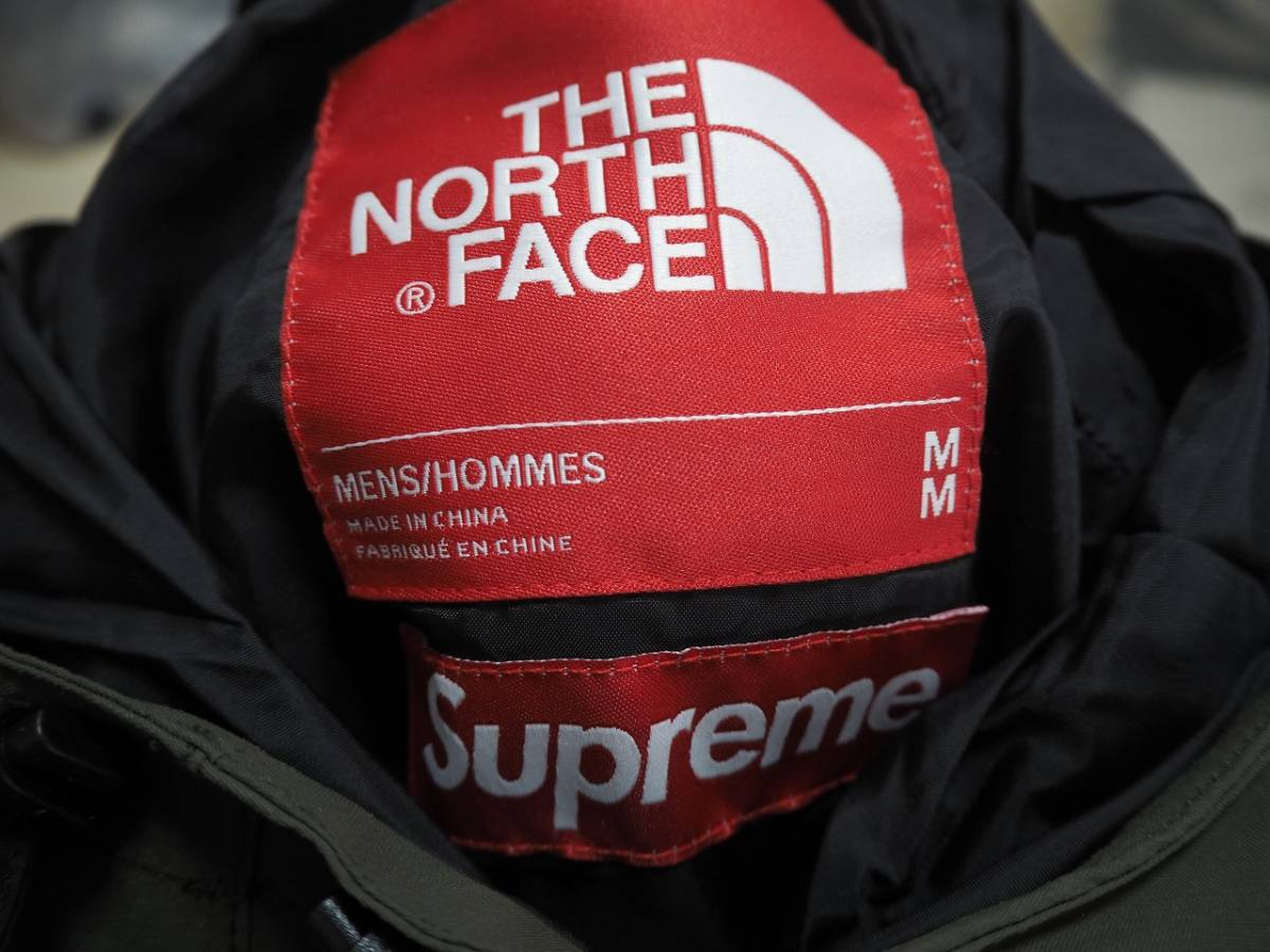 17ss Supreme The North Face Trans Antarctica Expedition Pullover Jacket Olive M シュプリーム ノースフェイス_画像3