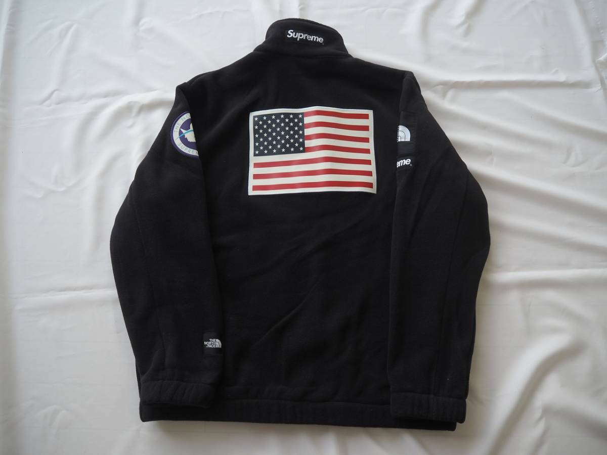 17ss Supreme The North Face Trans Antarctica Expedition Fleece Jacket Black L シュプリーム ノースフェイス_画像2