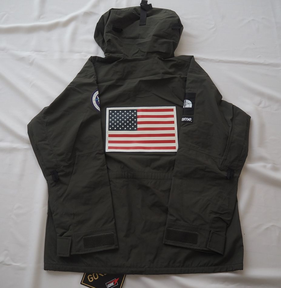 17ss Supreme The North Face Trans Antarctica Expedition Pullover Jacket Olive M シュプリーム ノースフェイス_画像2