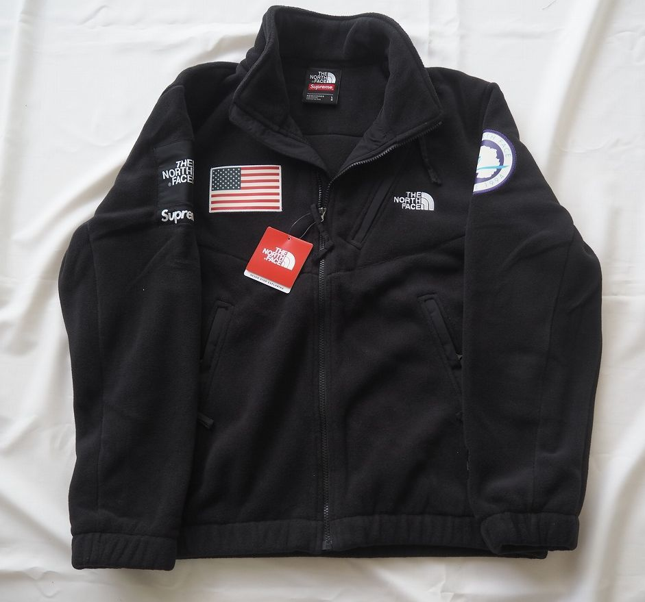 17ss Supreme The North Face Trans Antarctica Expedition Fleece Jacket Black L シュプリーム ノースフェイス