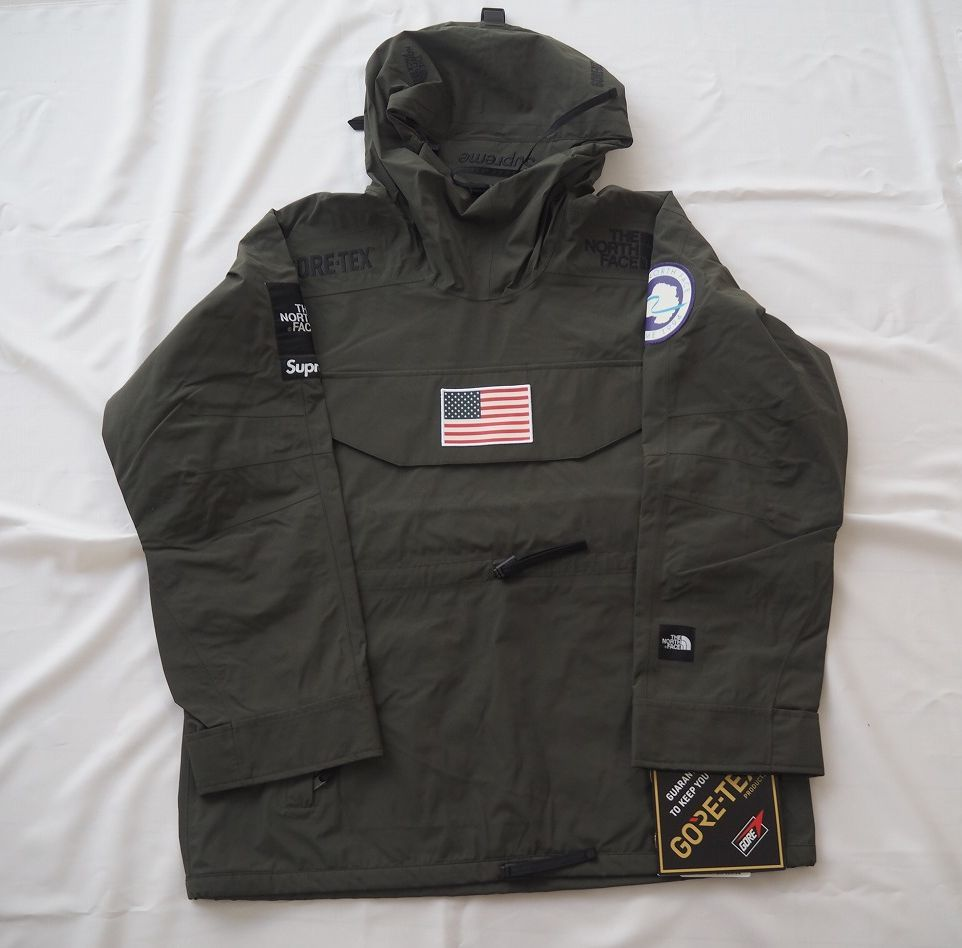17ss Supreme The North Face Trans Antarctica Expedition Pullover Jacket Olive M シュプリーム ノースフェイス