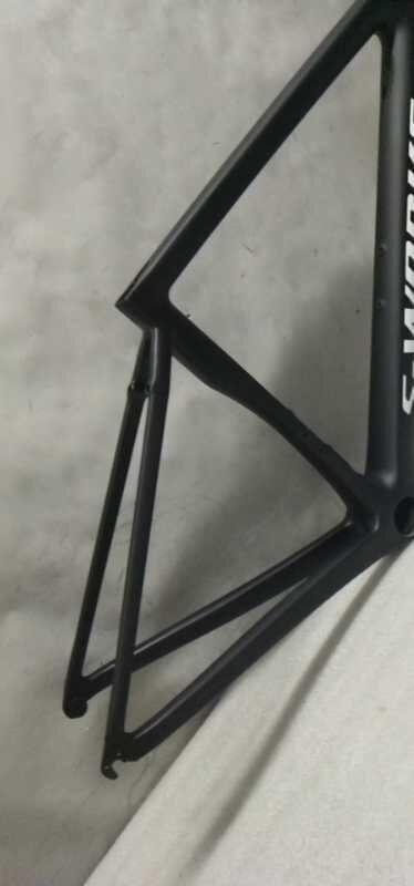 新品 カーボンフレーム ロードバイクフレーム 自転車フレーム フレームセット_画像3