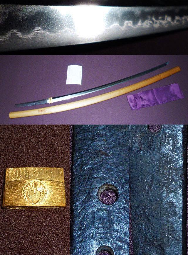 傑作 『安綱』『内藤家伝来』 長寸 とても古い太刀 刃長78.2cm 最上研磨済