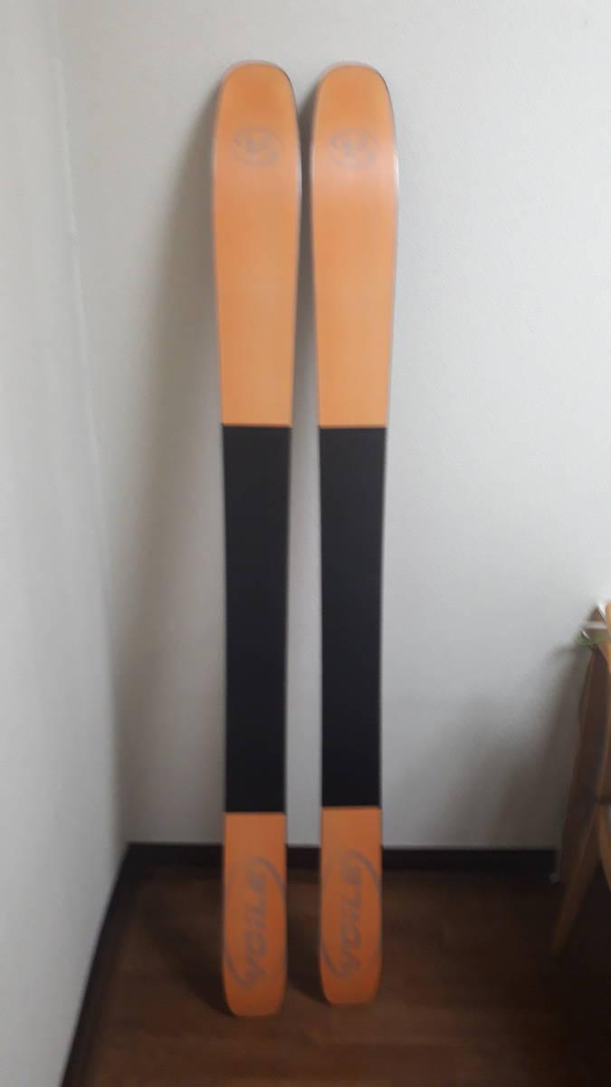 希少廃盤モデル voile チャージャーBC 171 中古 ウロコ鱗 dynafit ツアー バックカントリー ボレー TLT 山スキー ステップソール_画像6