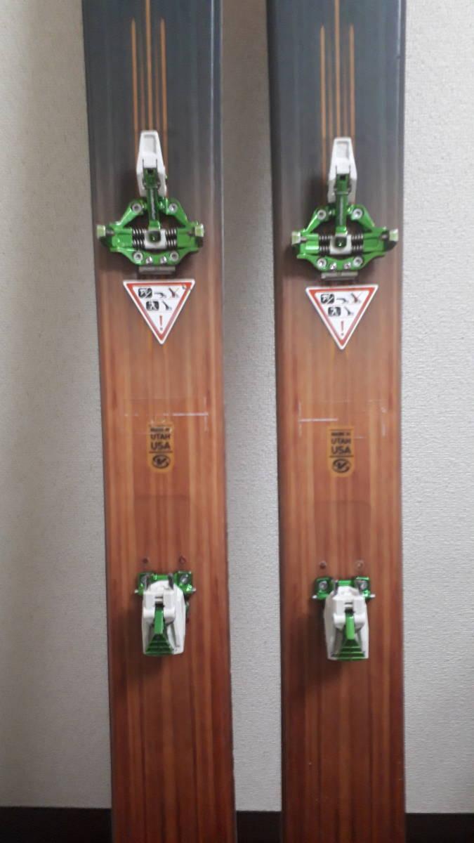 希少廃盤モデル voile チャージャーBC 171 中古 ウロコ鱗 dynafit ツアー バックカントリー ボレー TLT 山スキー ステップソール_画像3