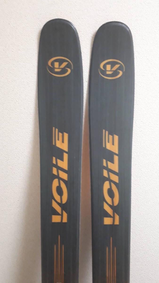 希少廃盤モデル voile チャージャーBC 171 中古 ウロコ鱗 dynafit ツアー バックカントリー ボレー TLT 山スキー ステップソール_画像2