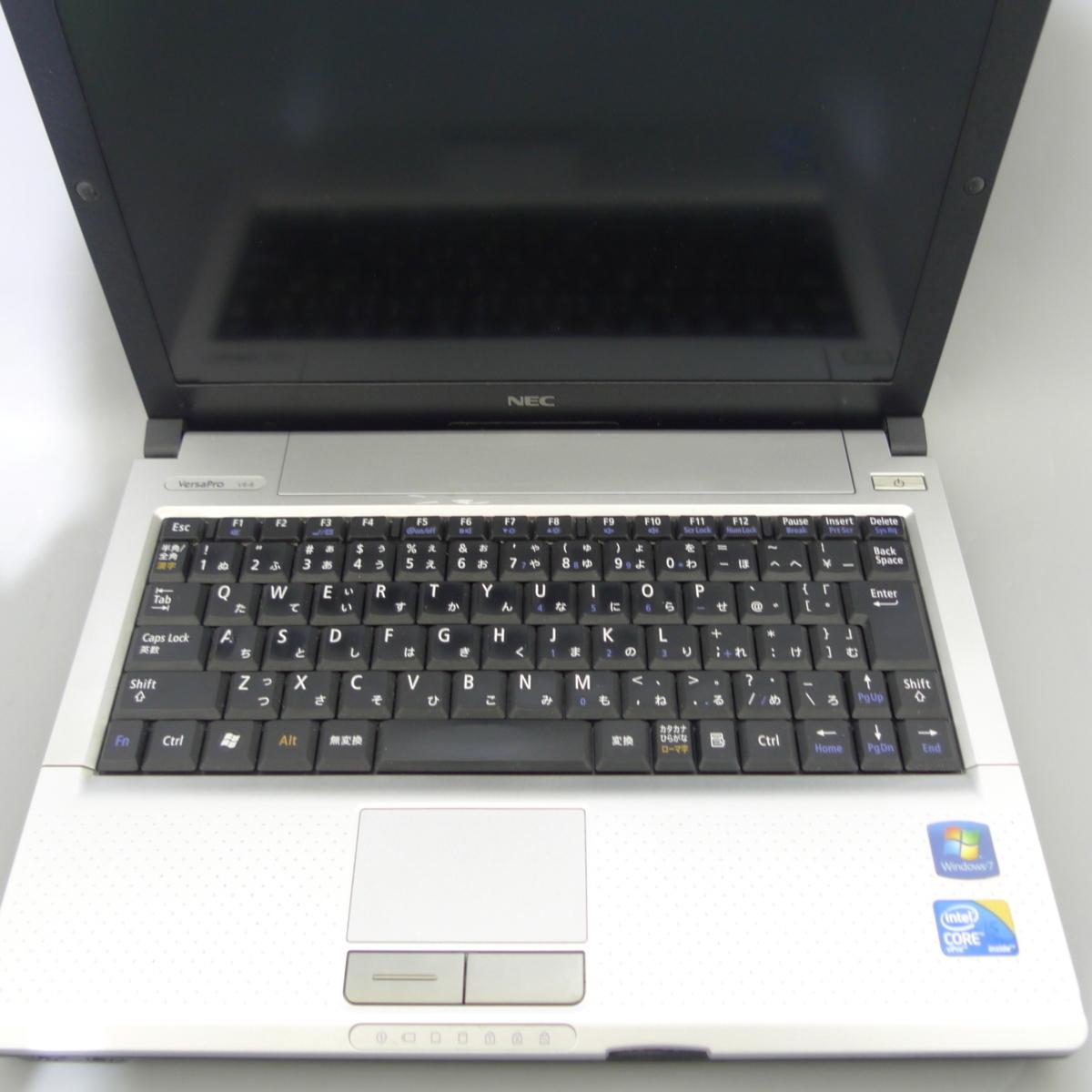 ●送料無料● Windows10 64Bit 搭載 中古 12.1インチ NEC VK13MB-B ノートパソコン Core i5 2GB 無線LAN Office2010 税無_画像4