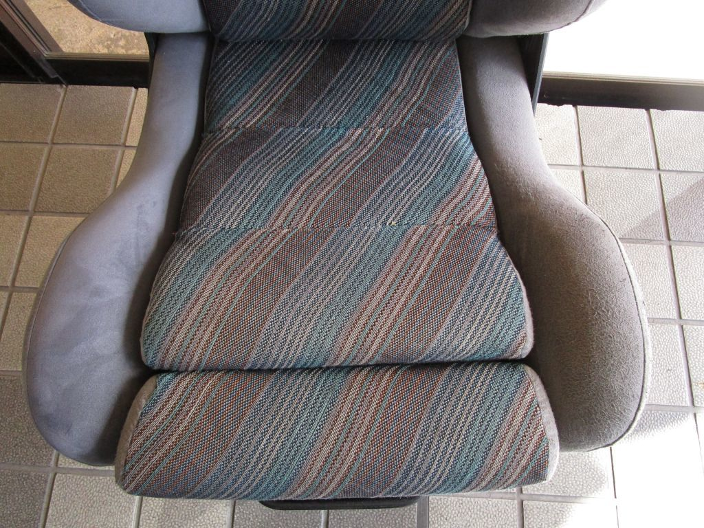 ランチアデルタシート オフィスチェアー 事務椅子_画像2