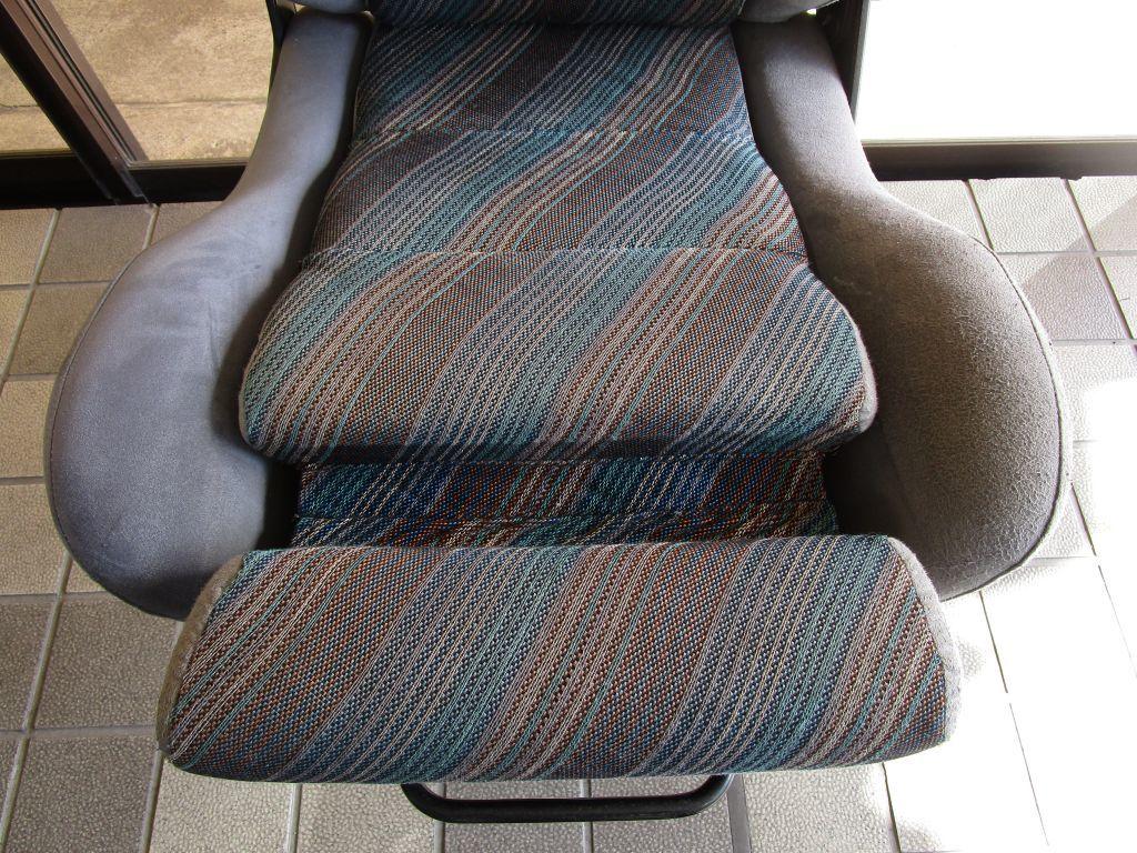ランチアデルタシート オフィスチェアー 事務椅子_画像3