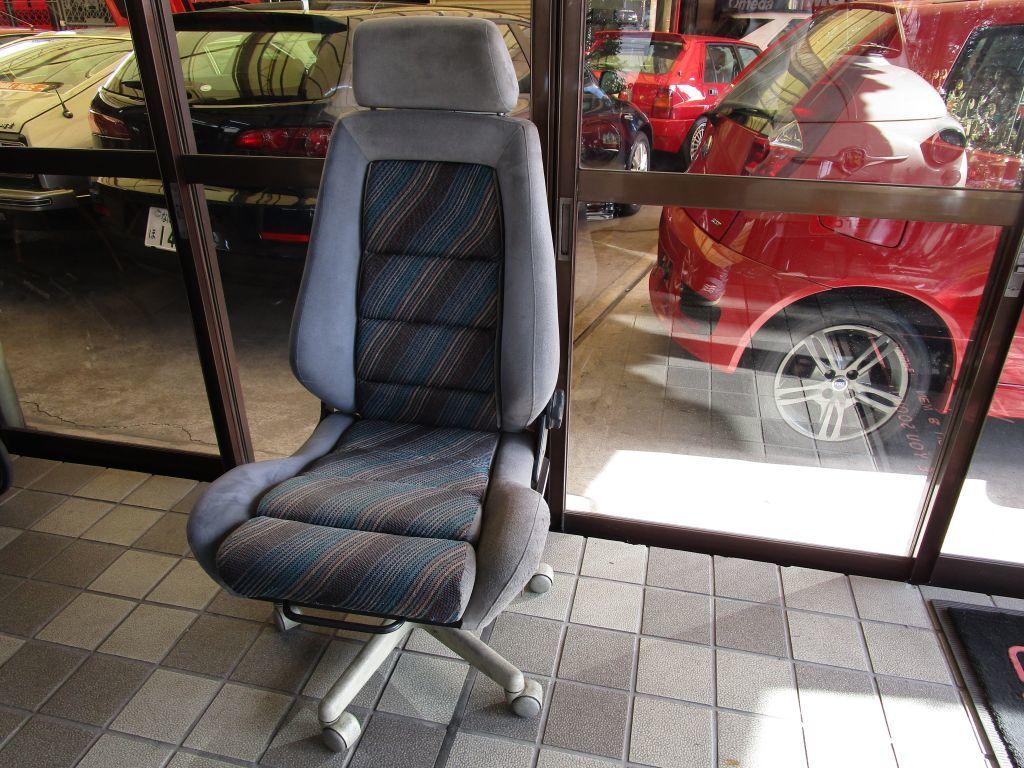 ランチアデルタシート オフィスチェアー 事務椅子_画像1