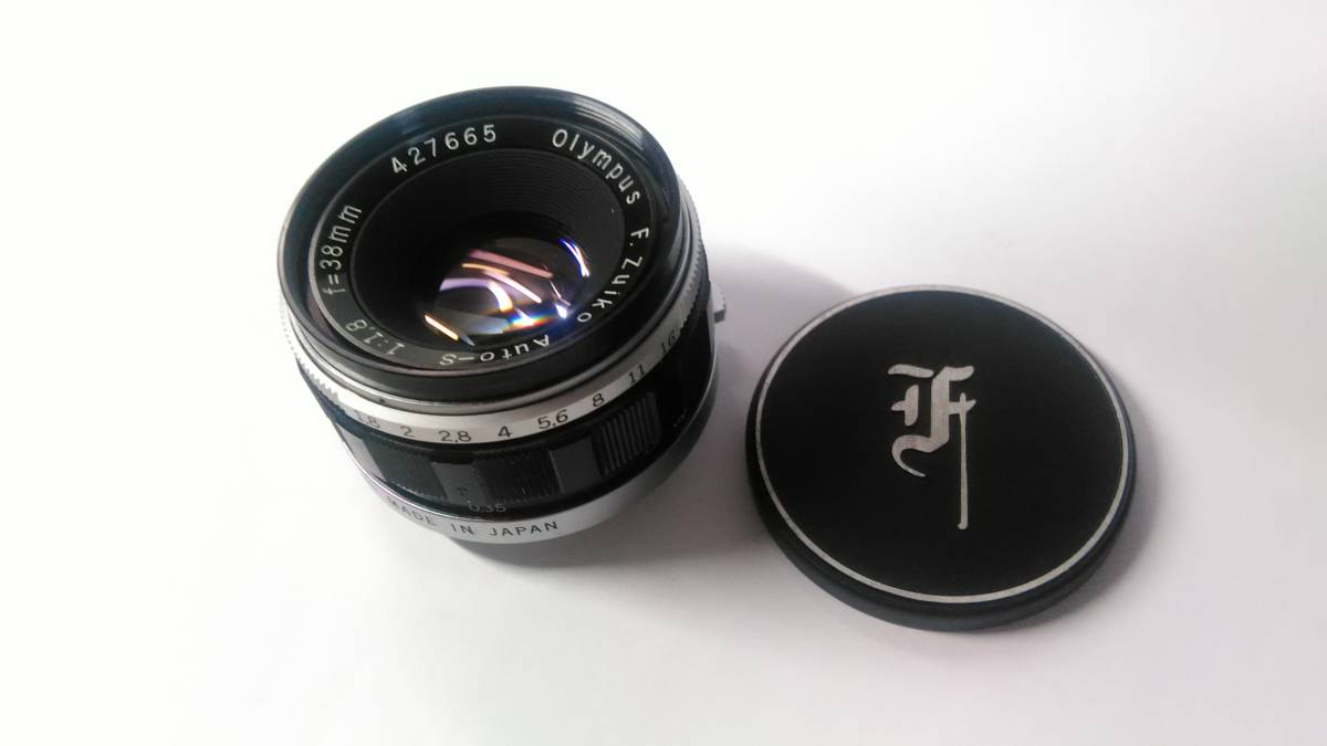 OLYMPUS PEN-FT Auto-S 38mm f1.8 オリンパス_画像8