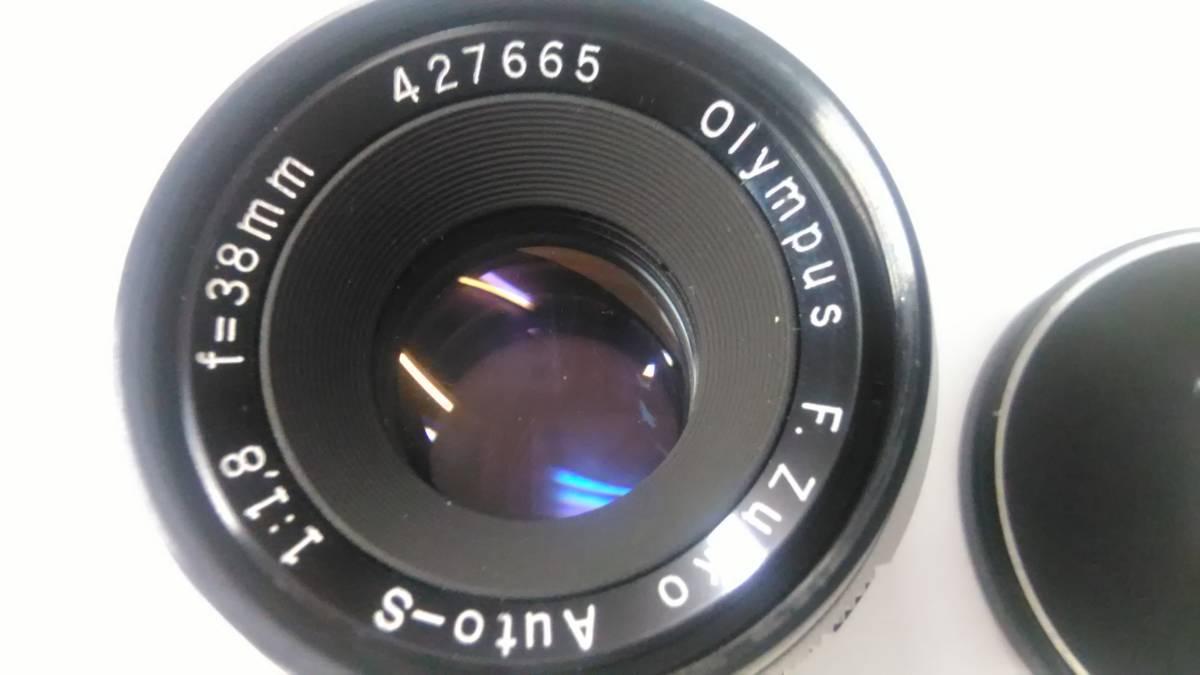 OLYMPUS PEN-FT Auto-S 38mm f1.8 オリンパス_画像9