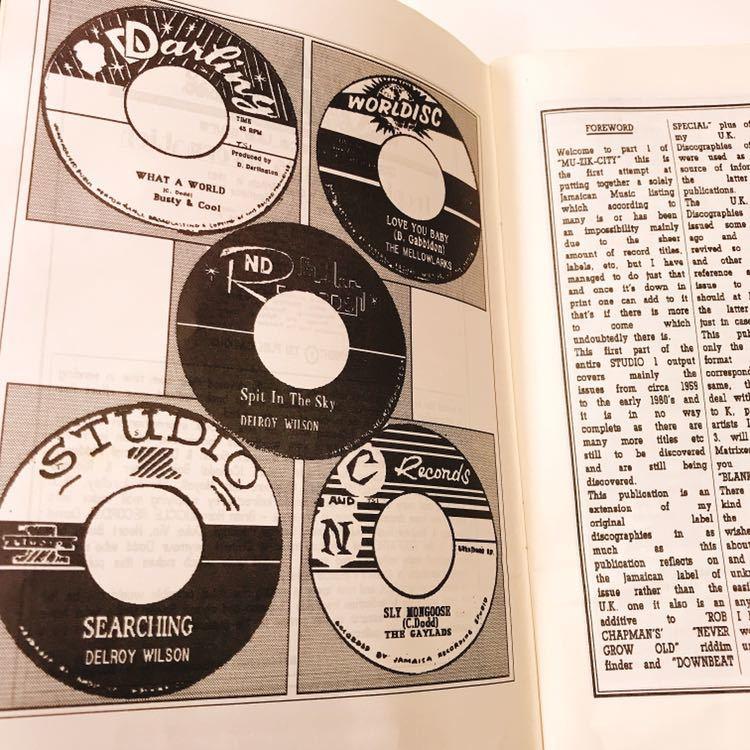 レア絶版本 Record Selector Vol.20 スタジオワン STUDIO 1 レコード・カタログ_画像6