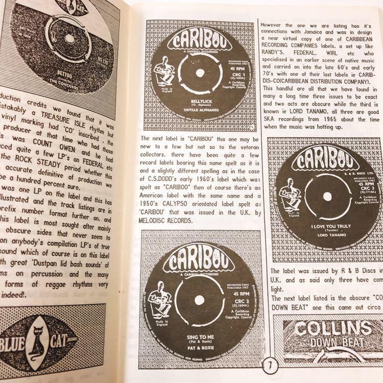 レア絶版本 Record Selector Vol.16 BLUE CAT , CARIBOU , Collins DOWN BEAT , R&B , NATIONAL CALYPSO 他, UKプロダクション・カタログ_画像3