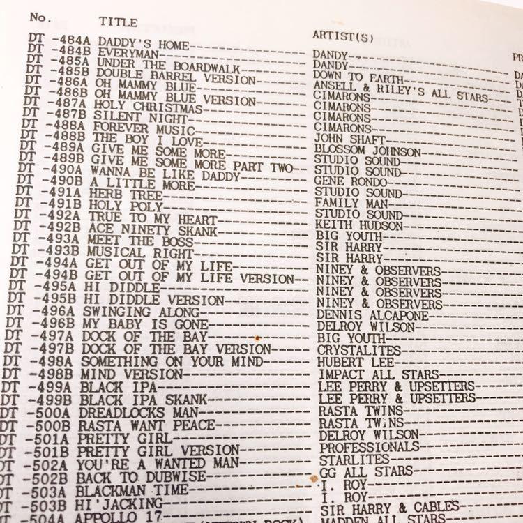 レア絶版本 Record Selector Vol.16 BLUE CAT , CARIBOU , Collins DOWN BEAT , R&B , NATIONAL CALYPSO 他, UKプロダクション・カタログ_画像6