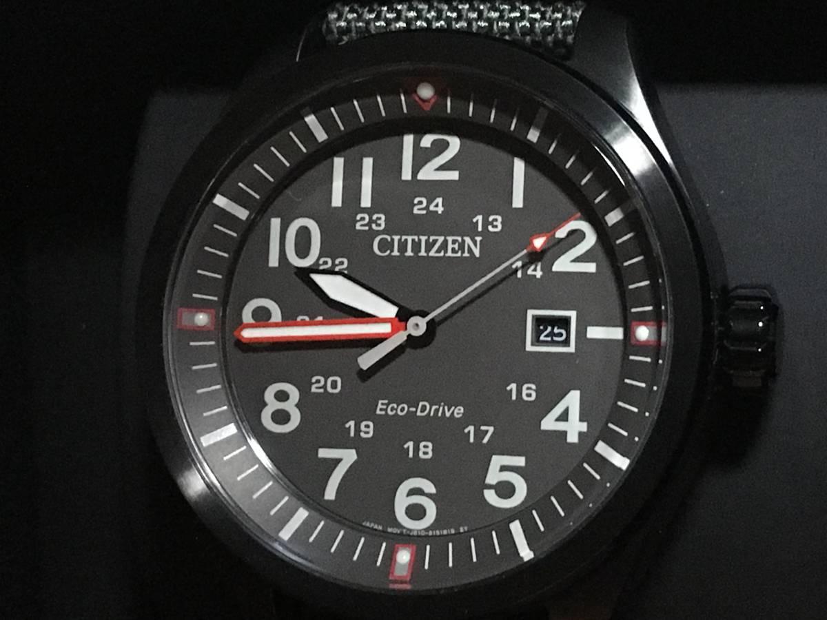 新品 CITIZEN Eco-Drive AW5005-39H Grey シチズン エコドライブ 日本未入荷 海外モデル ミリタリー 逆輸入 ソーラー ウォッチ 腕時計 CZ01