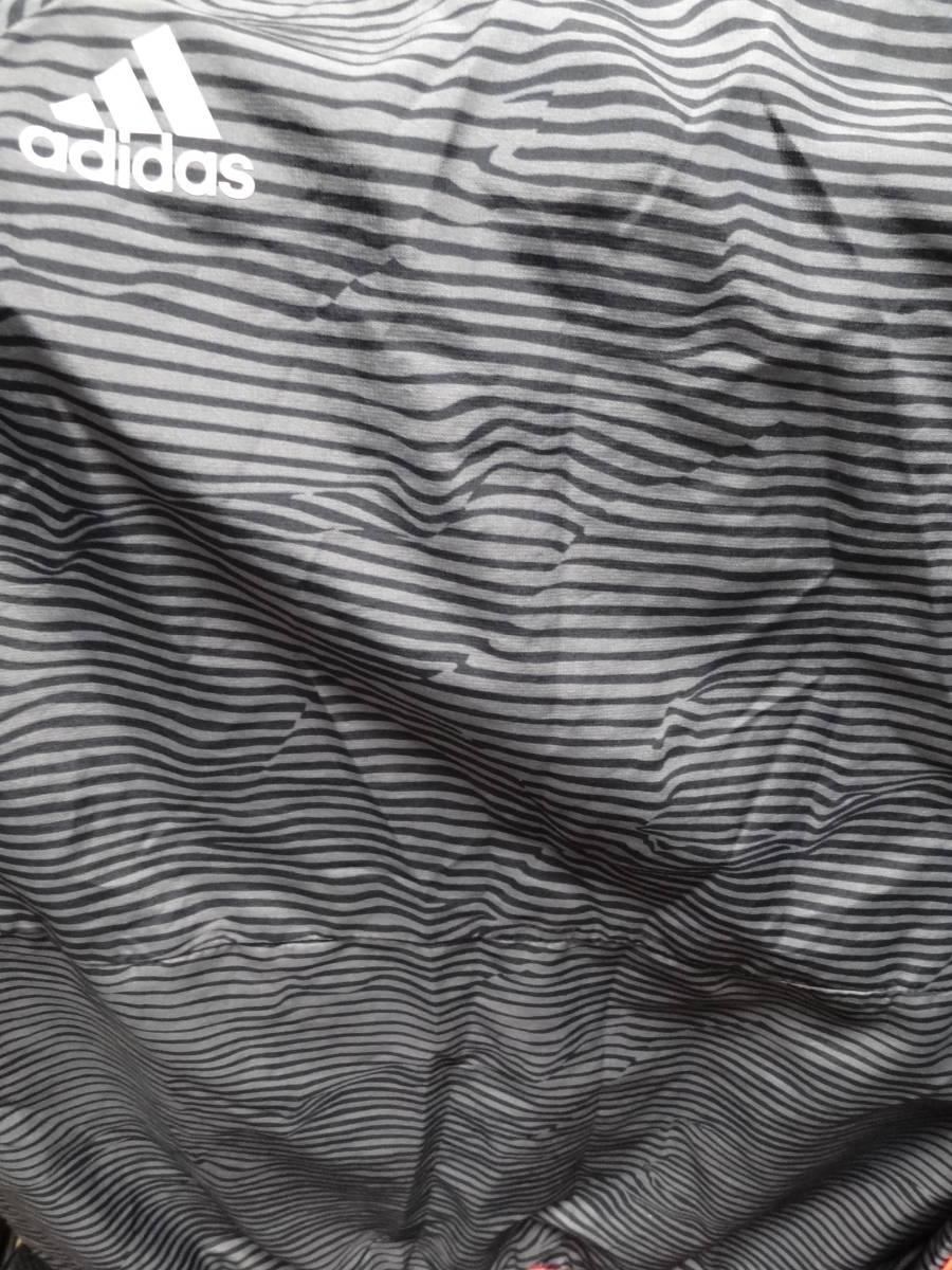 マンチェスター・ユナイテッド トレーニングウェア ジャージ 上下 セットアップ ジュニア 140cm アディダス ADIDAS 送料360~ _画像5