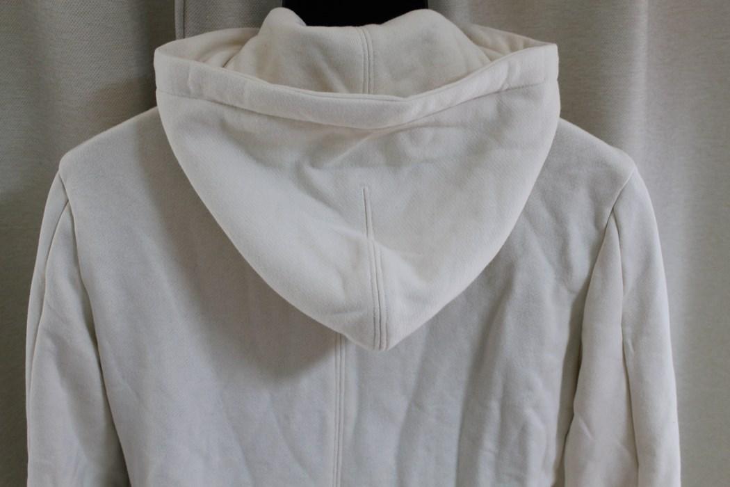エイチワイエム hym メンズ長袖ジップアップパーカ ホワイト サイズ46 日本製 新品_画像5