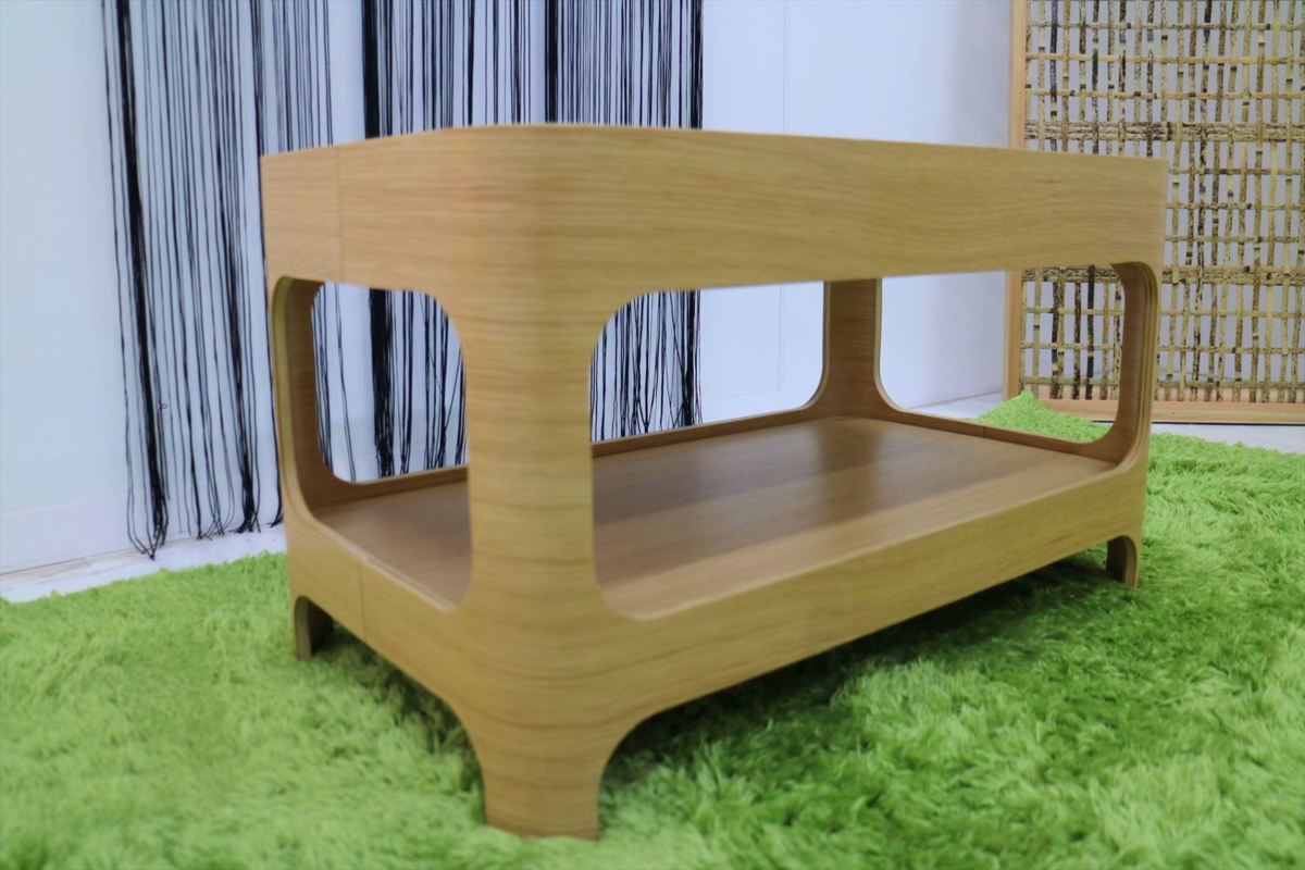 センターテーブル 幅70×奥行40×高さ40cm リビングテーブル ローテーブル ガラステーブル 家具_画像4