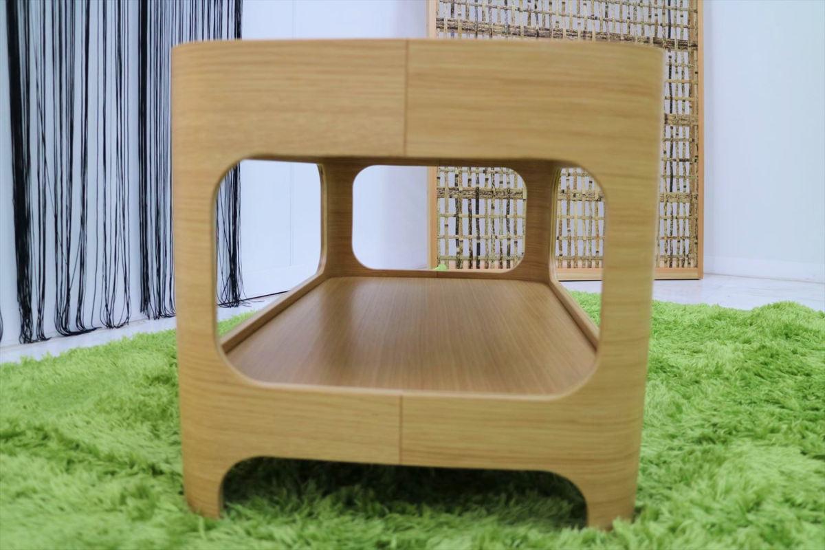センターテーブル 幅70×奥行40×高さ40cm リビングテーブル ローテーブル ガラステーブル 家具_画像5