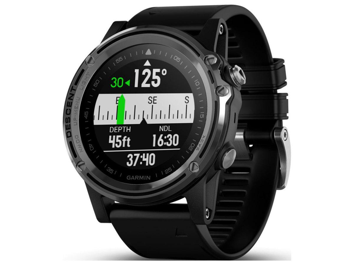 GARMIN(ガーミン)Descent Mk1 GPS内蔵 スマートウォッチ ダイビング 時計 ダイブコンピューター[010-01760-50]送料無料!_画像2