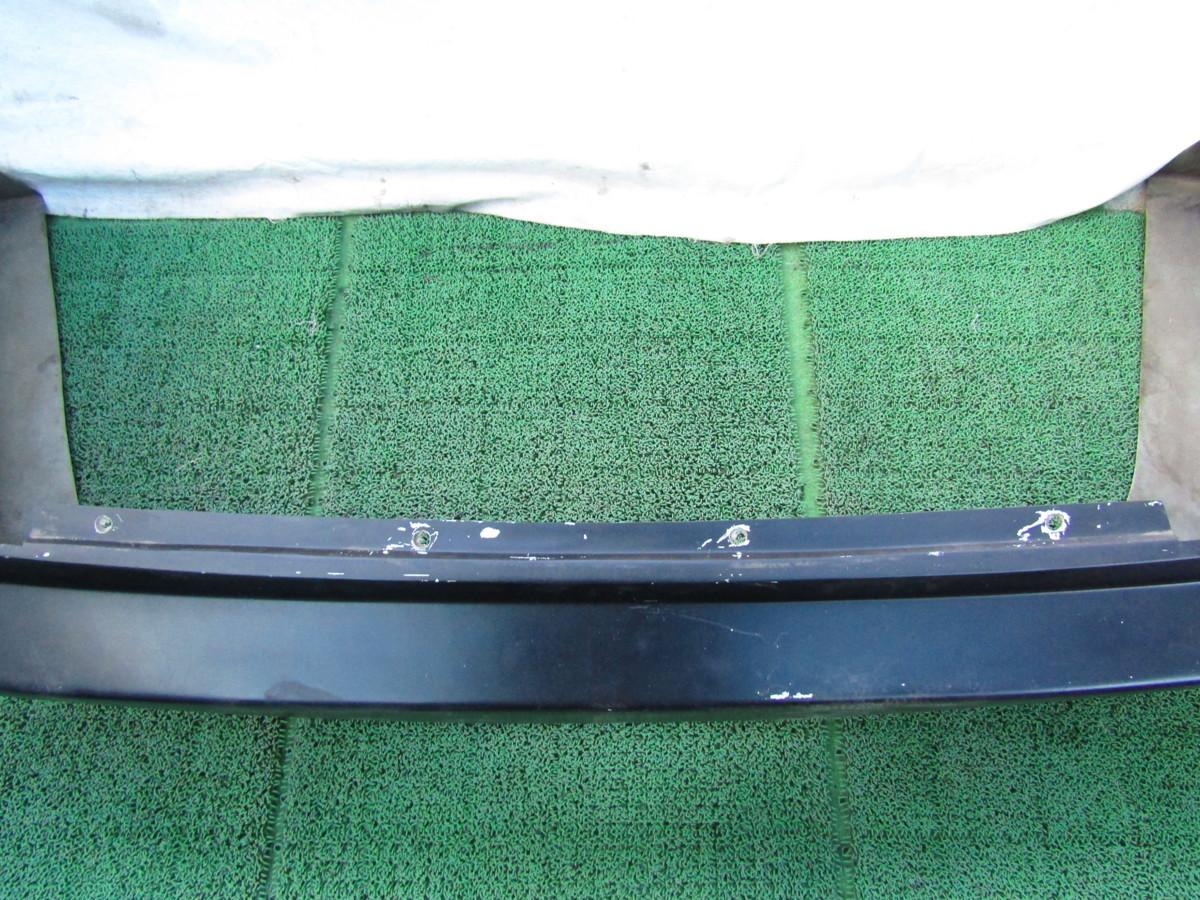 S14 シルビア メーカー不明 社外 エアロバンパー リアバンパー 張り出し オリジンタイプ? 黒色 前期 後期 補修ベースに_画像7