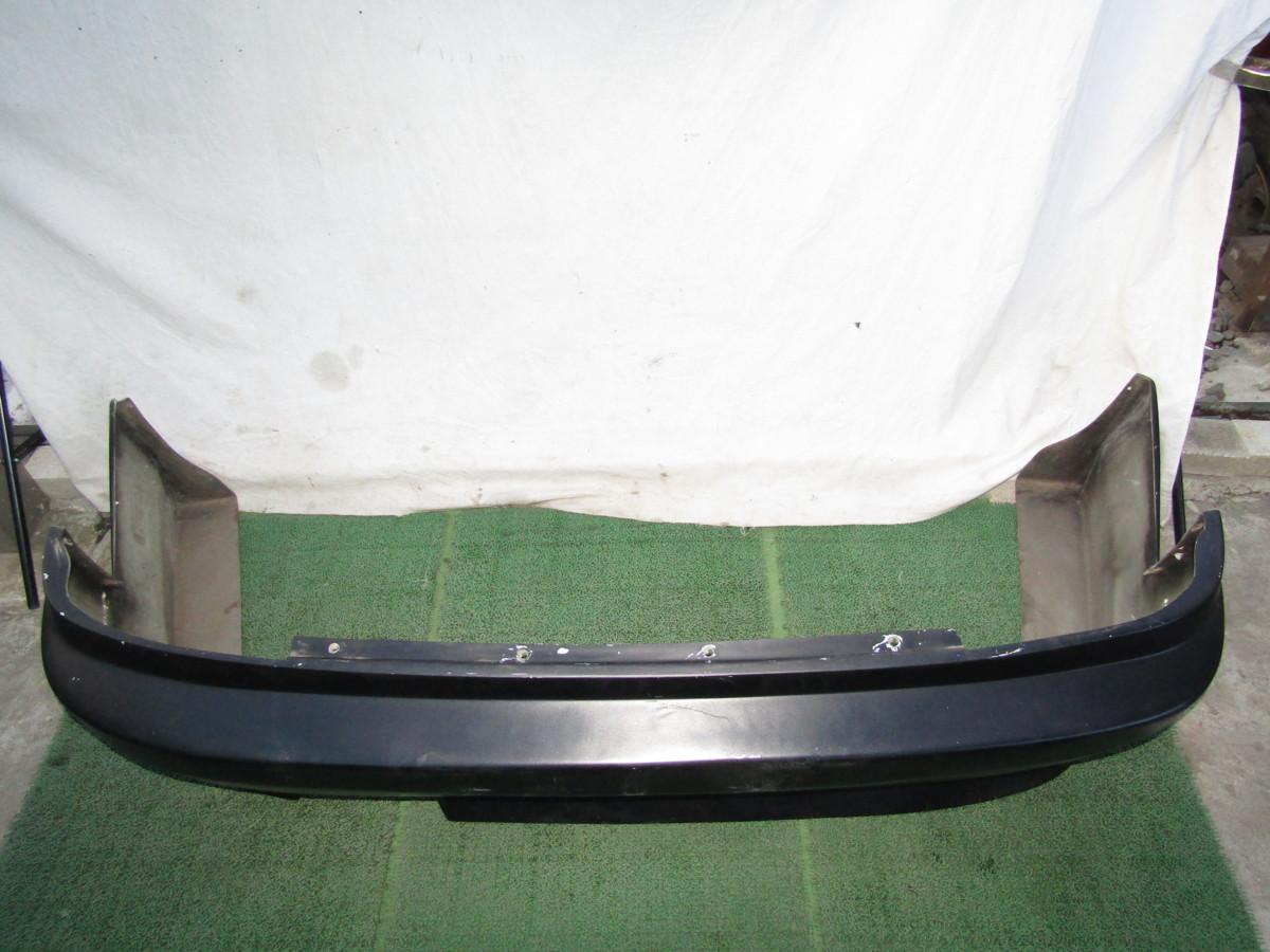 S14 シルビア メーカー不明 社外 エアロバンパー リアバンパー 張り出し オリジンタイプ? 黒色 前期 後期 補修ベースに_画像6