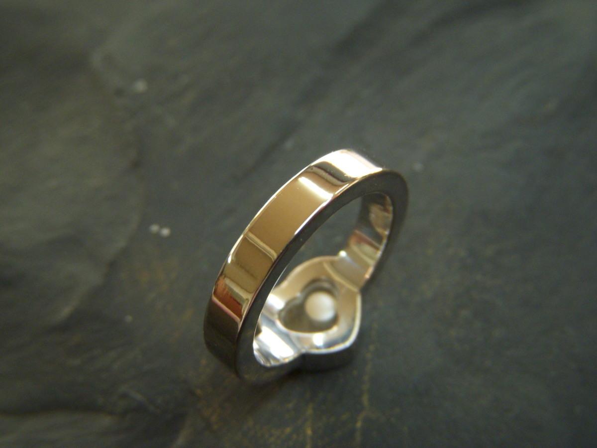 ★とちぎ屋!【Chopard】ハッピーダイヤモンド アイコンリング ハートタイプ サイズ9号(50、J1/2、5)ダンシングダイヤ!★_画像7
