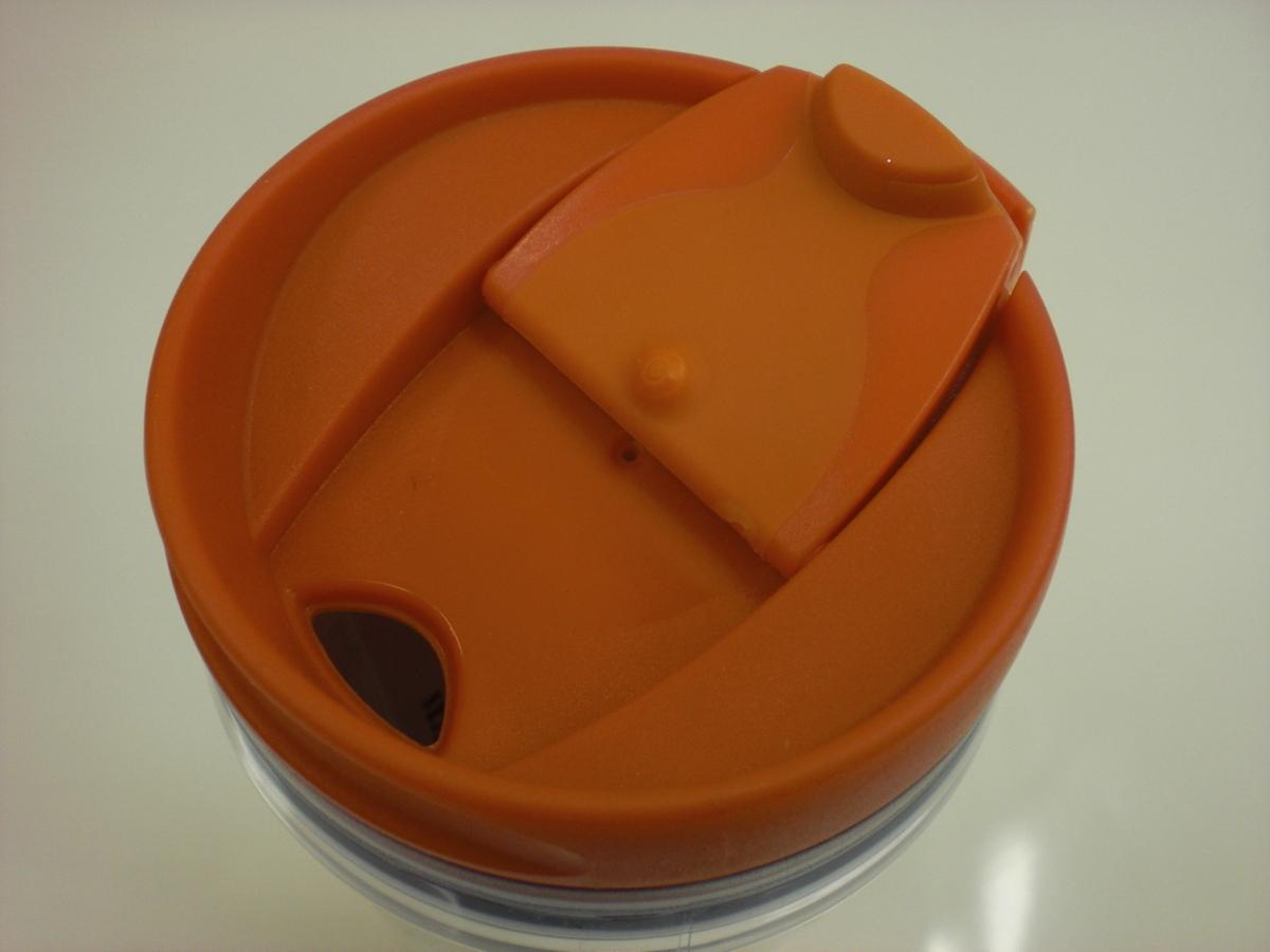 ○スタバ タンブラー 海外 香港 Hong Kong 橙 オレンジ 12oz 35L ご当地 限定 スターバックス 新品 未使用品_画像4