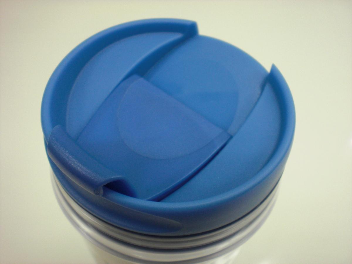 ○スタバ タンブラー 海外 中国 大連 DaLian 12oz 35L 水色 2009 ご当地 限定 スターバックス 新品 未使用品_画像4