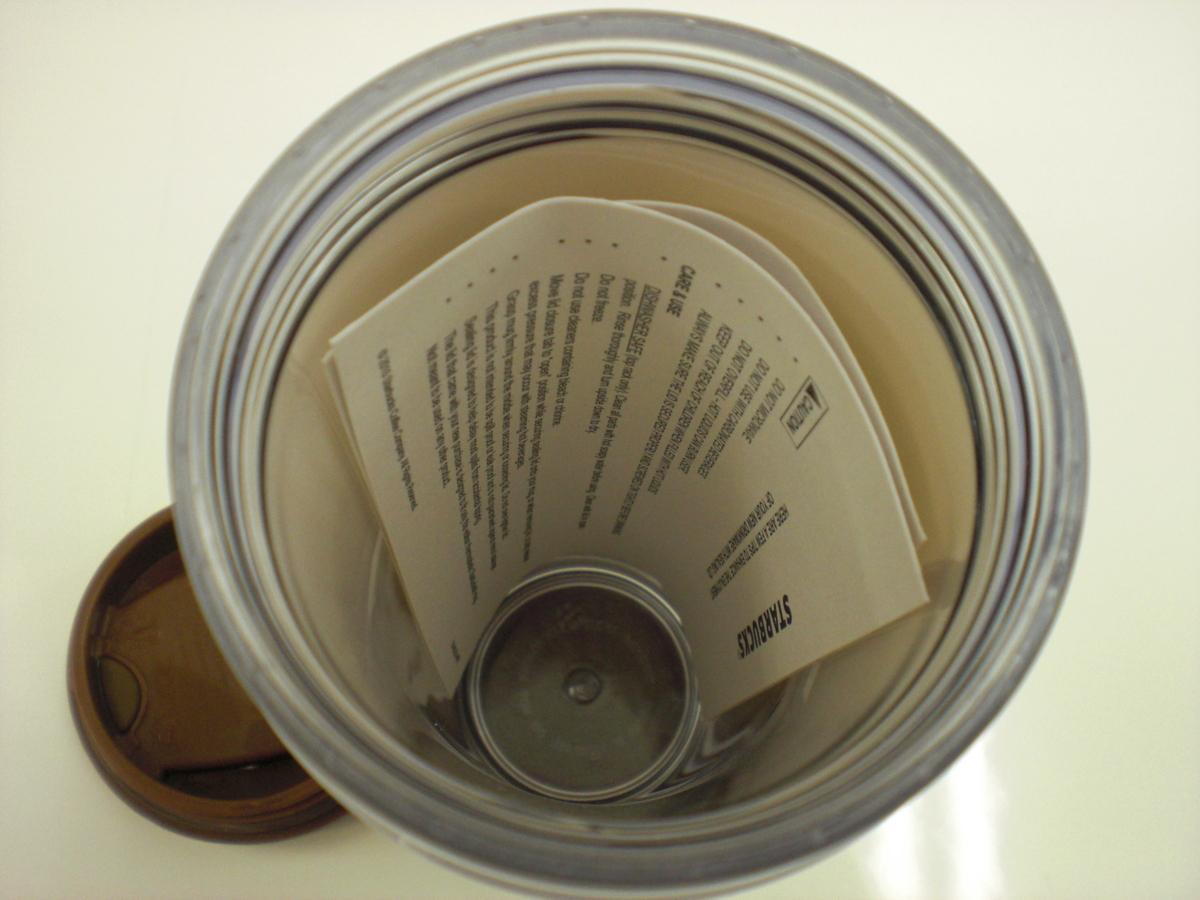 ○スタバ タンブラー 海外 中国 西安 Xi'an 12oz 35L 茶 2008 ご当地 限定 スターバックス 新品 未使用品_画像6
