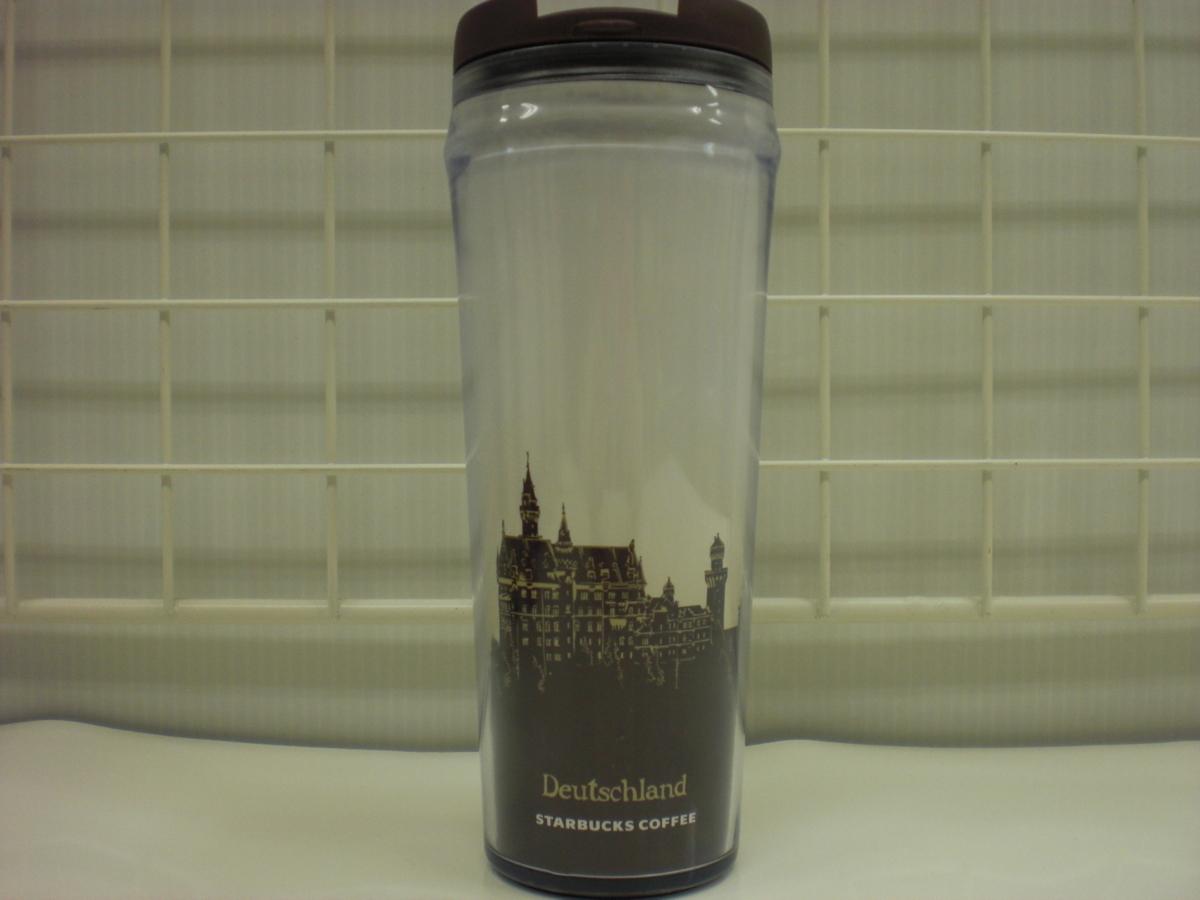 ○スタバ タンブラー 海外 ドイツ Germany Deutschland 12oz 35L 茶 2009 ご当地 限定 スターバックス 新品 未使用品_画像2