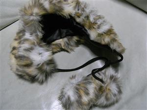 MILSA ボンボン付アニマルファー帽子 57.5cm タイプB 新品_画像1