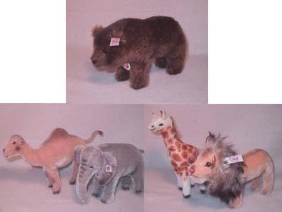 ◆2006世界限定◆「Zooセット 動物5体(キリン、ゾウ、ライオン、ラクダ、ベア)セット」◆新品即決_画像2