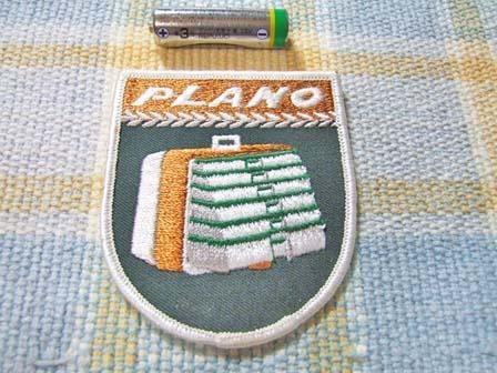PLANO/プラノ!タックルボックス柄の綺麗なワッペン・エンブレム_画像1