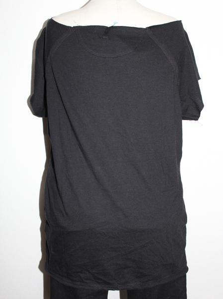 スワンジー SWANZY レディース半袖Tシャツ ブラック 新品 SW-09T-14_画像3