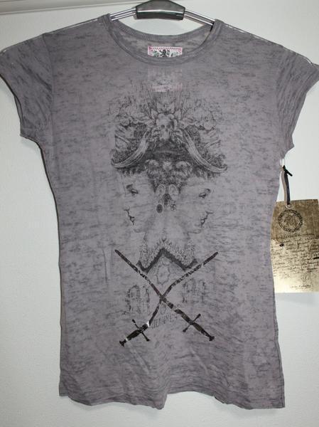 モーフィンジェネレーション Morphine Generation レディース半袖Tシャツ STEEL Sサイズ 新品_画像1