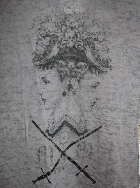 モーフィンジェネレーション Morphine Generation レディース半袖Tシャツ STEEL Sサイズ 新品_画像2