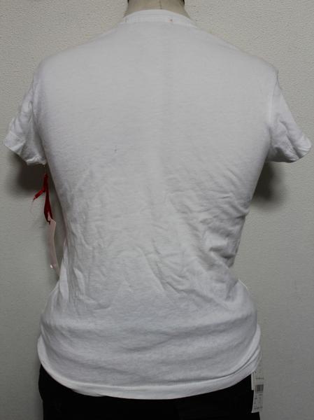 パメラアンダーソン Pamera Anderson レディース半袖Tシャツ ホワイト Sサイズ アウトレット_画像3