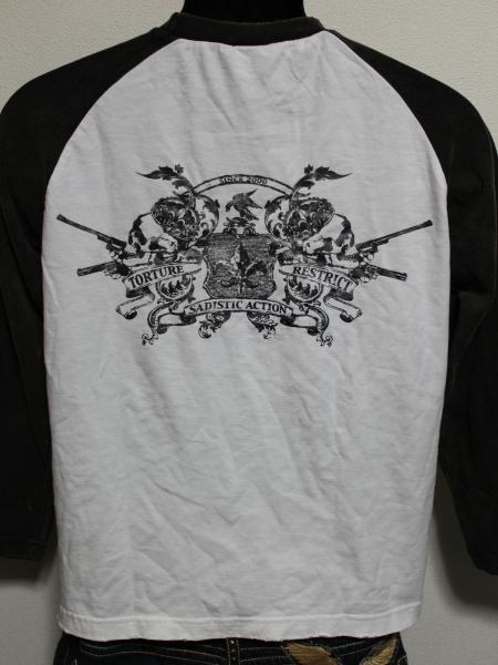 サディスティックアクション SADISTIC ACTION メンズ長袖Tシャツ Lサイズ NO22 新品_画像3
