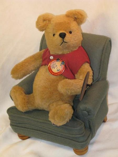 ◆R John Wright◆「Pooh & His Favorite Chair」◆1989年WDW_画像2