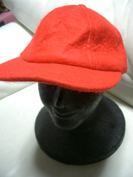 ニューヨークハット NEW YORK HAT ウールキャップ レッド 新品_画像1