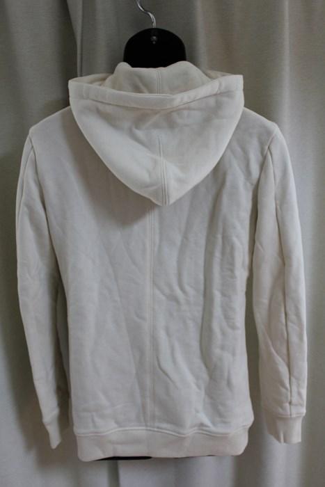 エイチワイエム hym メンズ長袖ジップアップパーカ ホワイト サイズ46 日本製 新品_画像4
