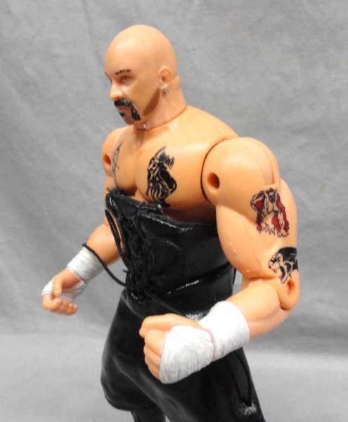 トイビズ WCW ペリー・サタン ECW プロレス TOYBIZ フィギュア WWF_画像4