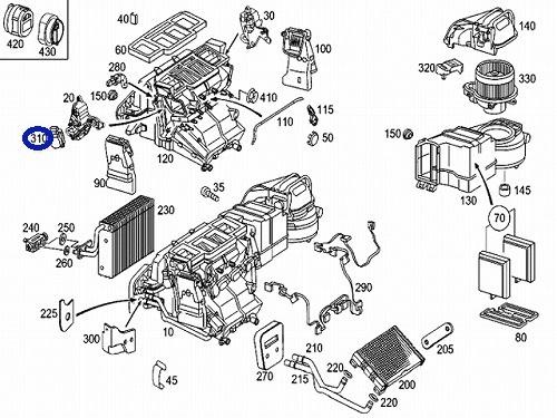 BEHR HELLA製 AC フラップモーター W163 MLクラス/W463 Gクラス_画像3